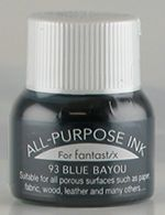 all purpose ink tsukineko ink 93 blue bayou