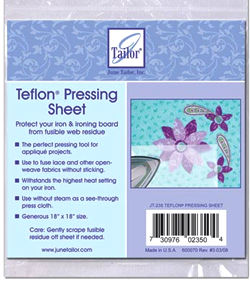 june tailor teflon sheets 18x18