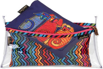 lb5906d canine friends 3 cosmetic bags laurel burch design