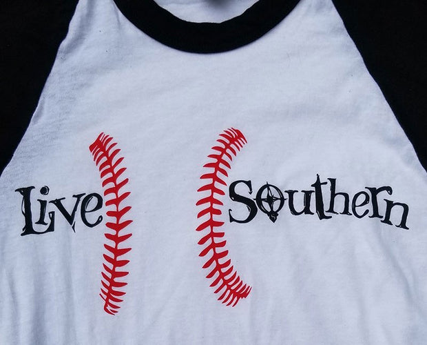 Baseball in the South - Black Sleeves