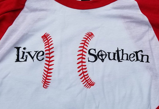 Baseball in the South - Red Sleeves