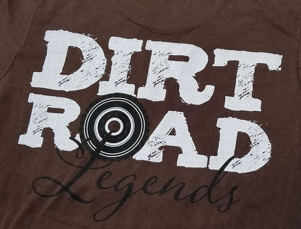 Dirt Road Legends - Brown Short Sleeve