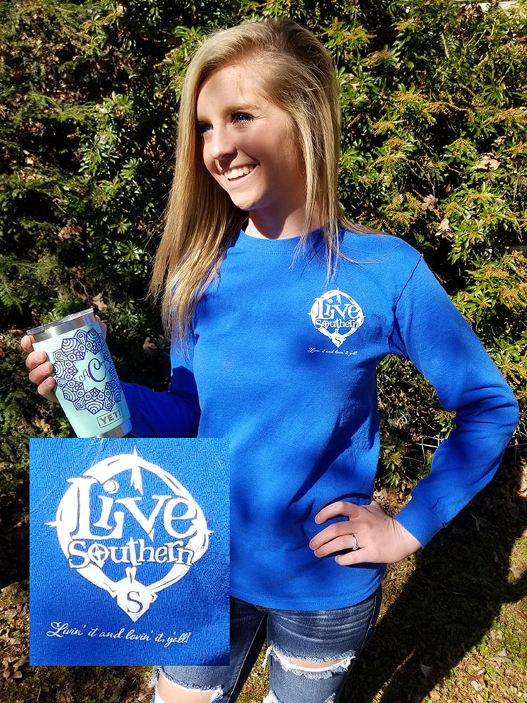 SC Palmetto State Royal Blue Long sleeve