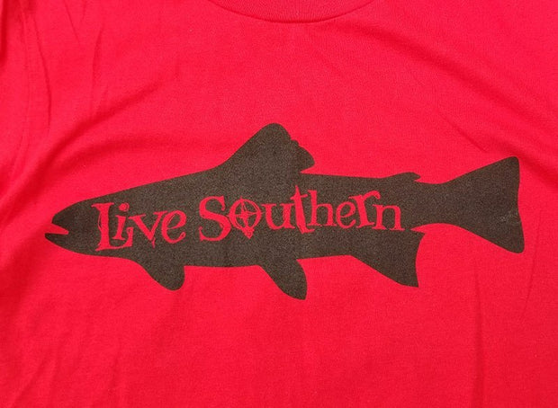 Trout Life - Red Short Sleeve