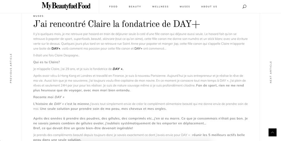 claire despagne d+forcare beautyfuelfood
