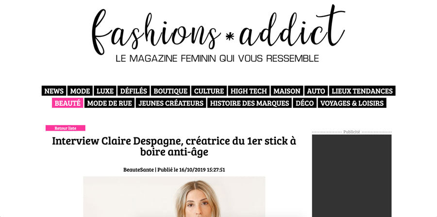 fashion addict claire despagne d+forcare