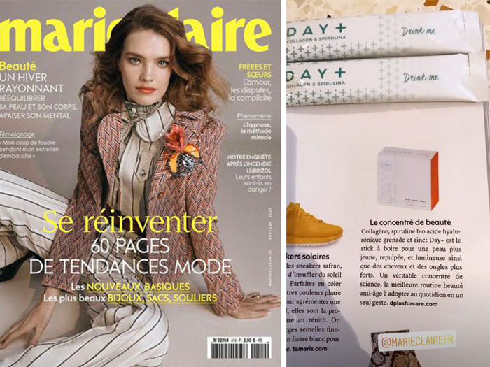 marie claire day+