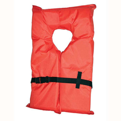 Onyx Orange Type II Jacket Adult Large 4pack