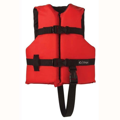 Onyx General Purpose Life Vest Child Red