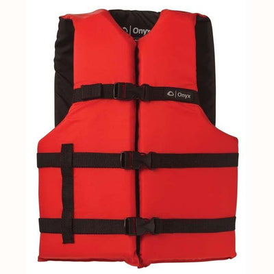 Onyx General Purpose Life Vest Adult Red