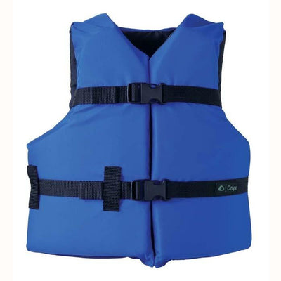 Onyx General Purpose Life Vest Youth Blue