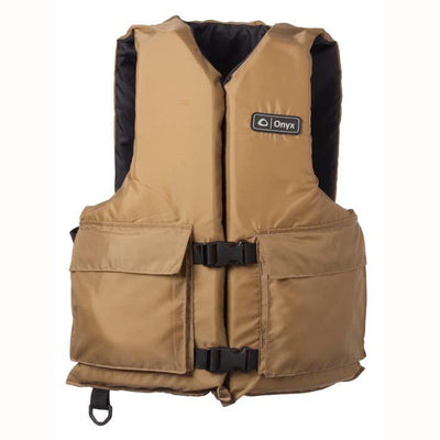 Onyx Universial Sport Vest Tan Adult Oversize