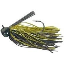 Buckeye Football  Jig 1oz Green Pumpkin