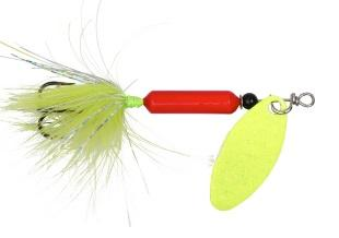 Yakima Rooster Tail 1-8 Red Chartreuse