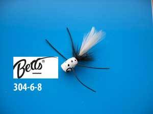 Betts Bee Pop White-Black-White Size 6