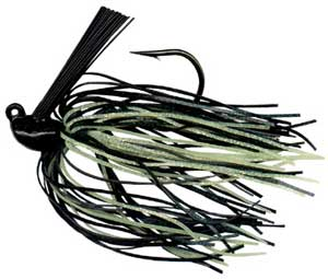Arkie Rattlin Jig 3-8 6-cd Black-Chartreuse