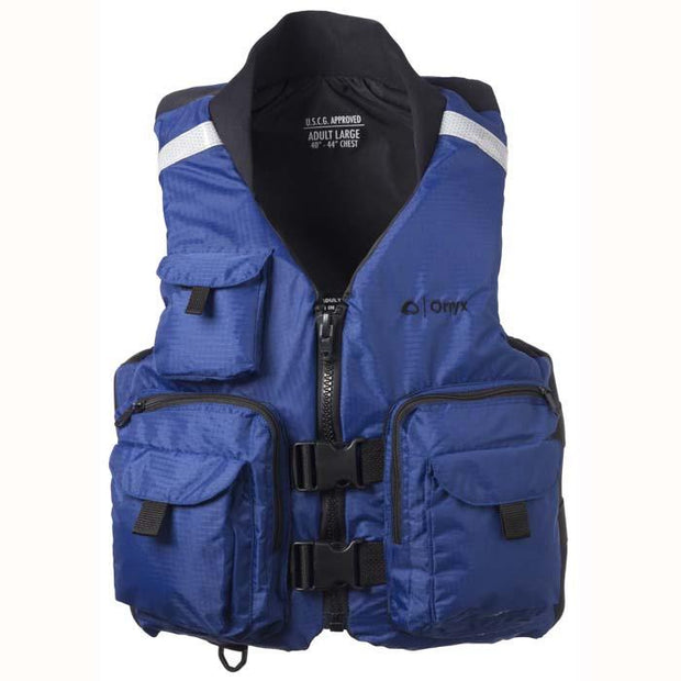 Onyx Pro Caster Vest Navy Blue Medium