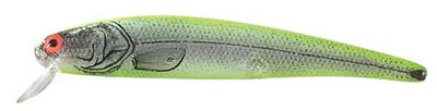 Bomber Long A 3-8 Silver-Chartreuse Back-Belly