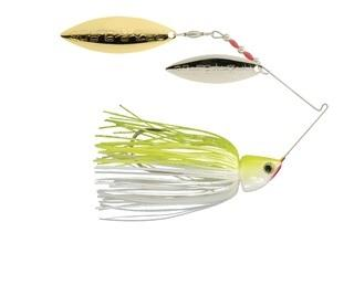 Strike King Burner Finesse 1-4oz Chartreuse-White