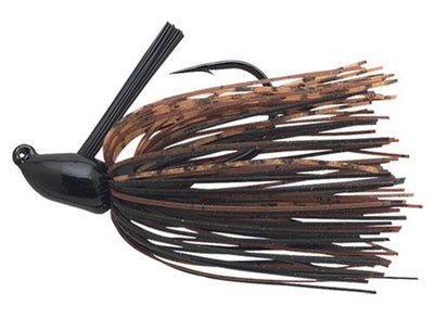 Booyah Boo Jig 1-4 Black Brown Spice