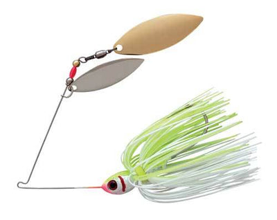Booyah Blade 3-8 Double Willow White-Chartreuse