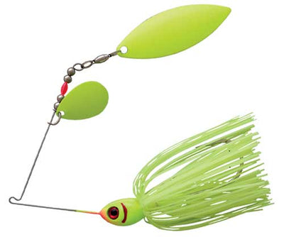 Booyah Glow Blade Double Willow 1-2 Chartreuse