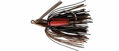 Booyah Swimin Jig 1-2 Black-Brown