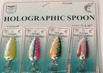 FJ Neil Holographic Spoons Assorted 1-4oz 12-cd