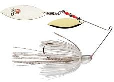 Strike King Finesse KVD Spinnerbait Super White
