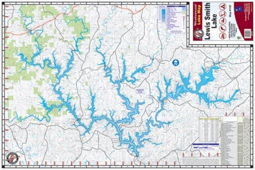 Kingfisher Lake Map Lewis Smith