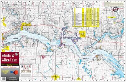 Kingfisher Lake Map Wheeler-Wilson