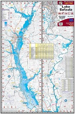 Kingfisher Lake Map WF George-Eufaula