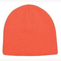 Outdoor Cap Knit Watch Cap with Cuff Blaze Orange