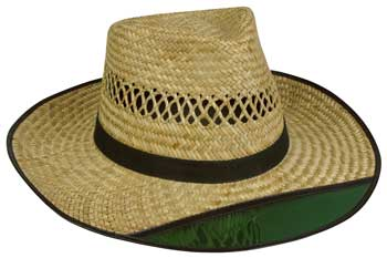 "Outdoor Cap Mens Straw Hat - Tinted 3"" Brim 1 Size"