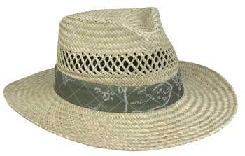Outdoor Cap Mens Straw Hat -  Nautical 1 Size