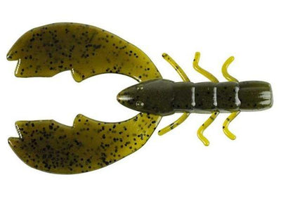 "Berkley Chigger Craw 3"" Green Pumpkin 10ct"