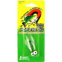 Leland Pop Eye Jig 1-16 2ct White-White