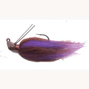 Punisher Hair Jig 1-4oz Peanut Butter & Jelly