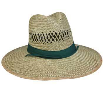 Outdoor Cap Men Structured Straw Hat