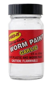 Spike It Worm Paint 2oz Garlic White
