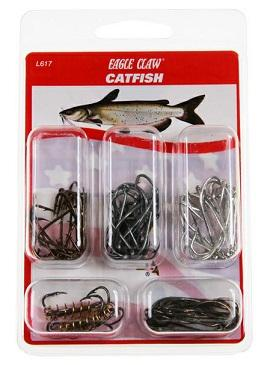 Eagle Claw Species Hook Assortment Catfish 40ct