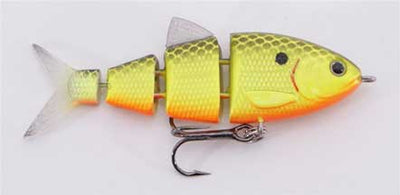Spro SB25 BBZ1 Baby Shad 1-4oz Chartreuse Black Back
