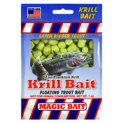 Magic Bait Trout Krill Bait 1oz Chartreuse