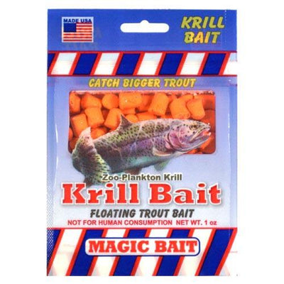 Magic Bait Trout Krill Bait 1oz Orange