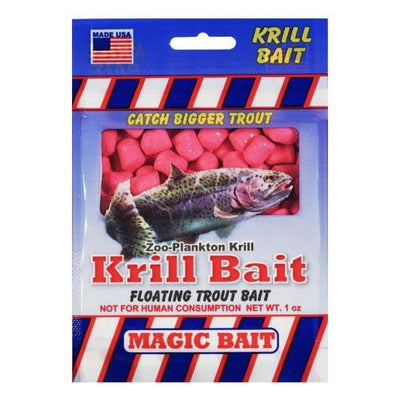 Magic Bait Trout Krill Bait 1oz Pink