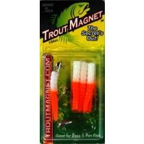 Leland Trout Magnet 1-64oz 9ct White-Orange
