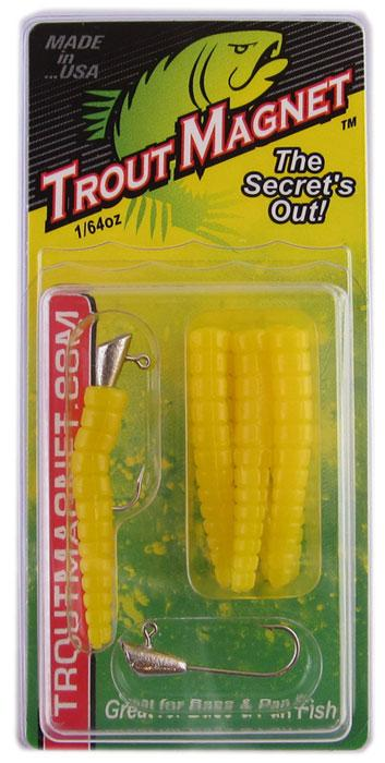 Leland Trout Magnet 1-64oz 9ct Yellow