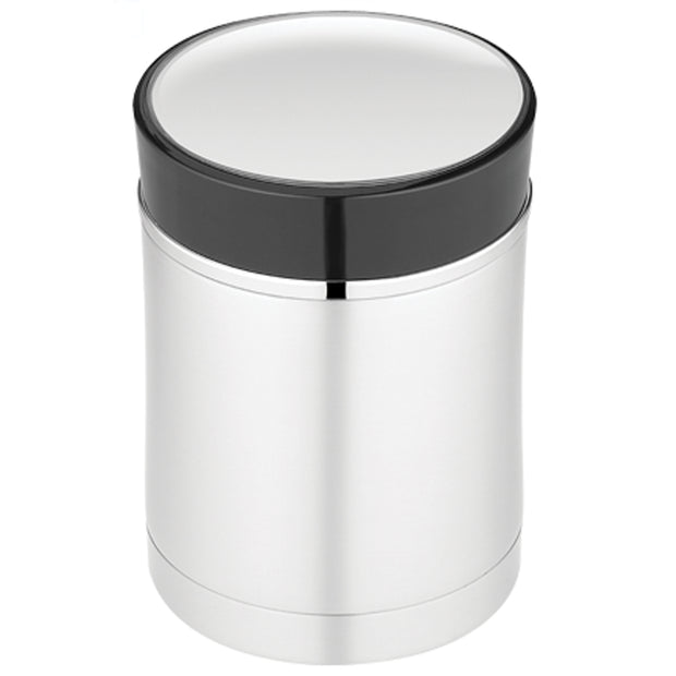 Thermos Sipp™ Vacuum Insulated Food Jar - 16 oz. - Stainless Steel-Black