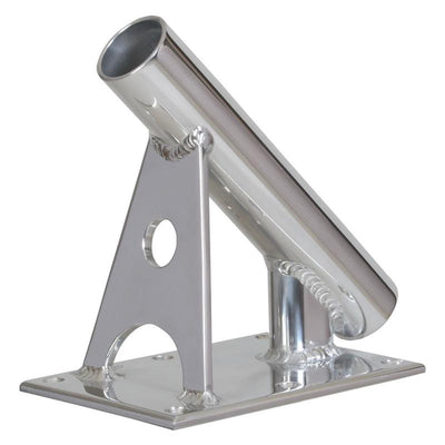 "Lee's MX Pro Series Fixed Angle Center Rigger Holder - 45° - 1.5"" ID - Bright Silver"