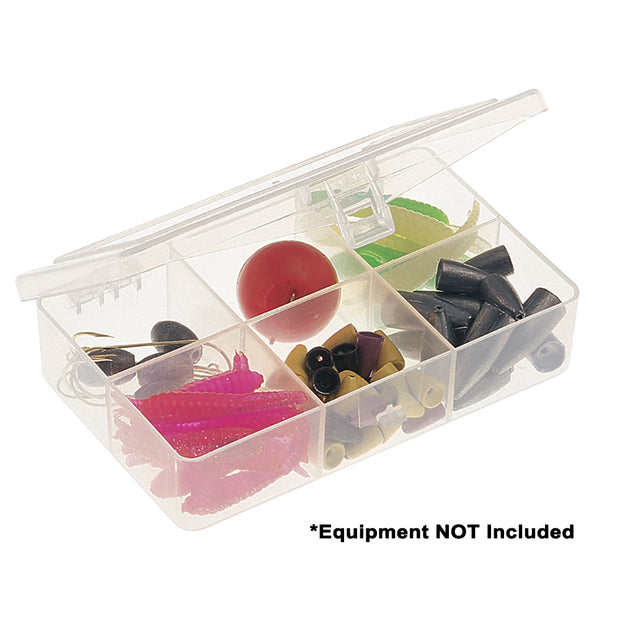 Plano Six-Compartment Tackle Organizer - Clear
